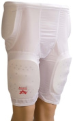 Athletic Specialties Youth 5 Pocket Football Girdle With Sewn-In Hip, Tail And Thigh Pads, X-Large