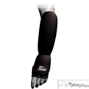 Bike Adult Hand/Forearm Pad - Black Large