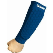 McDavid 651YR HexPad Arm Sleeve Pair Royal Youth X-Large