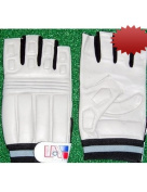 United Athletic Half Fingered Football Lineman Gloves Adult XXL