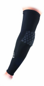 McDavid HexPad Power Shooter Arm Sleeve, Black, Small