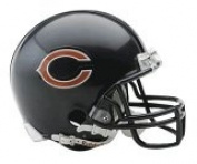 NFL Chicago Bears Replica Mini Football Helmet