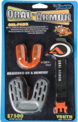 Franklin Sports Youth Oral-Armour Gel Mouthguard with Strapping System