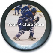 CUSTOM Photo/Logo Hockey Puck