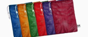 "Heavy-Duty Mesh Bag, 24"" x 36"", Assorted Colors, 6/Set"
