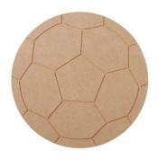 Darice MDF Soccer Ball, 27.9cm Diameter