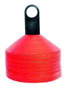 Agora Disc Cones - 5.1cm Orange - Set of 50 with Carrier