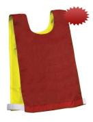 Reversible Red / Yellow Pinnies - 1 Dozen