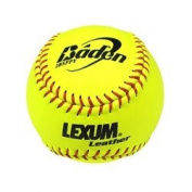 Baden NFHS 30cm . Lexum Leather Softballs - 1 Dozen