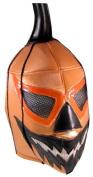 HALLOWEEN JACK O LANTERN Lucha Libre Wrestling Mask (pro-fit) Costume Wear - Orange