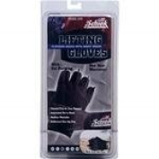 Platinum Gel Lifting Gloves with Wrist Wrap in Black Size