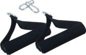 Rubberbanditz Soft Hand Grips and Carabiners for Comfortable Resistance Exercise Band Training