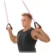 Fit Tube, Strong, Pink + Free Door Attachment