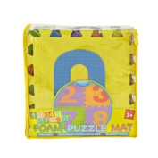 Kennedy Home Collections Puzzle Mat in Numbers