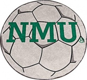 Fanmats 02012 Northern Michigan University Soccer Ball Rug