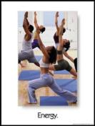 Energy 45.7cm X 61cm Laminated Yoga Inspirational Poster