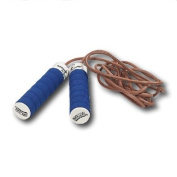 All Pro Weight Adjustable Jump Rope, Leather, 0.5kg. Handles