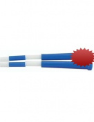 CHAMPION SPORTS CHSPR9 PLASTIC JUMP ROPE BLUE WHITE