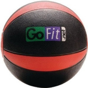 GOFIT GF-MB8 Medicine Ball (3.6kg; Black and Red) -by-GOFIT