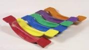 Sportime Duck Walker Agility Balance Board - 23 1/2 x 12.7cm x 8.9cm - Each - Colour Will Vary