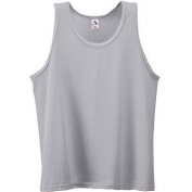 Youth Poly/Cotton Athletic Tank - HEATHER - LARGE
