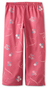 Life is Good Girl's Sleep Pant, Tossed Heart, Dusty Pink, X-Small