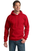 Port & Company - Pullover Hooded Sweatshirt, PC90H, Red, 2XL