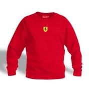 Ferrari Red Shield Logo Sweatshirt, XXL