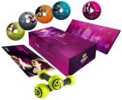 Zumba Fitness Exhilarate Body Shaping System DVD (Multi, Small) With a Mini Tool Box