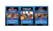 Total Gym Complete Fitness 3 Set DVD
