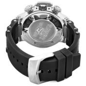 Invicta Men's 1380 Subaqua Noma III Chronograph Black Dial Black Silicone Watch