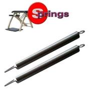 "Malibu Pilates Chair Springs Regular Strength - Length11.5"" - 289.8.mm - Width 7/8""- 24.6mm."