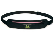 Amphipod Airflow Microstretch Belt Black With Pink Reflective