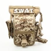 Drop Leg Utility Waist Pouch Carrier Bag New Random Colour