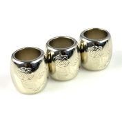 Christmas Gift,10pcs/bag,jewellery Beads with Oversized Hole Accessories,ring Tube for Diy Scarf, Pt-663