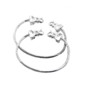 Elephant .925 Sterling Silver West Indian Baby Bangles