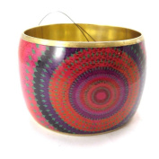 "'french touch' bracelet ""Desigual"" multicoloured red."