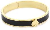 Kate Spade New York Black Hinge Spade Bangle Bracelet