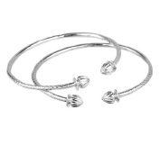 Acorn .925 Sterling Silver West Indian Bangles