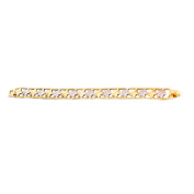 Gold Plated Star Shape Chain Link New Bracelet 19.1cm