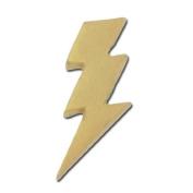 Lightning Bolt Lapel Pin - Gold