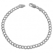 Sterling Silver 4.5-mm Classic Lite Charm Bracelet