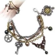 Mrs Hudsons Cellar Keys Steampunk Alchemy Gothic Bracelet