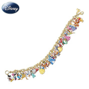 Ultimate Disney Classic Charm Bracelet Featuring 37 Disney Characters by The Bradford Exchange