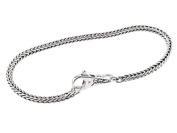 SilveRado(tm) B-(FTB001-18) Sterling Silver Bundle 3.0 mm 7 inch. Bead Bracelet