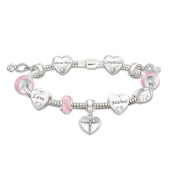 A Nurse's Heart Charm Bracelet by The Bradford Exchange