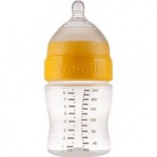Yoomi 240ml Feeding Bottle with Medium Flow Teat