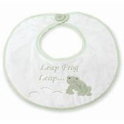 Bearington Leaping Frog Baby Bib
