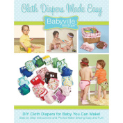 Dritz 160095 Babyville Boutique Pattern& Instruction Book 1-Cloth Nappies Made Easy