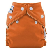 FuzziBunz Perfect Size Cloth Nappy - Extra Small 1.81-5.44kg - Kumquat